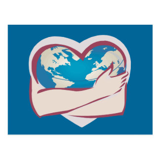Love Mother Earth Post Card
