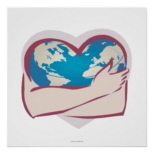 Love Mother Earth Print