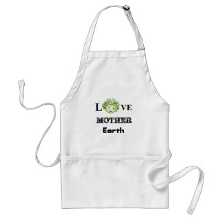 Love Mother Earth Standard Apron