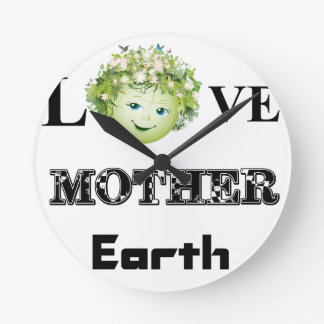 Love Mother Earth Wallclocks