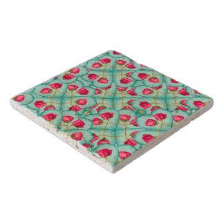 Love Motif Pattern Print Trivet