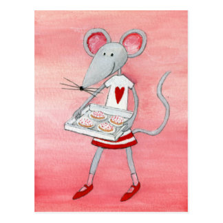 Love Mouse & Mice Postcard