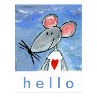 Love Mouse Postcard