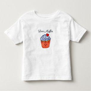 Love Muffin Blue Toddler T-Shirt
