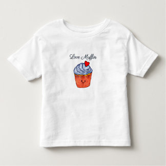 Love Muffin Blue Toddler T-Shirt