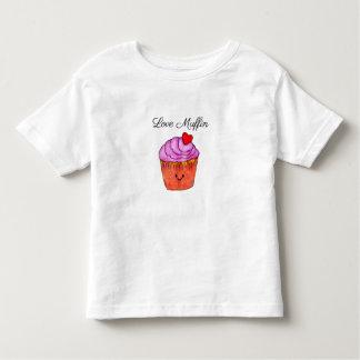 Love Muffin Pink Toddler T-Shirt