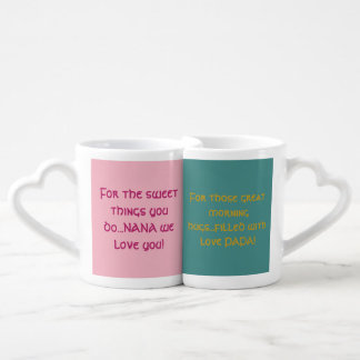 Love mug for your grandparents