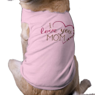 Love Mum Mothers Day Heart Shirt
