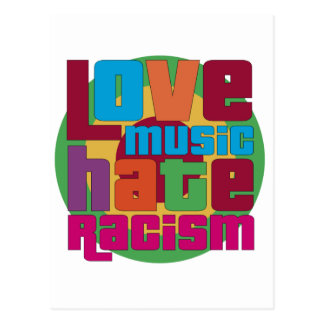 Love Music Hate Racism Post Cards