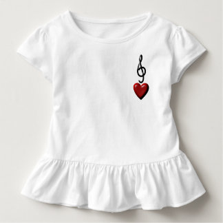 Love Music Raffle Dress