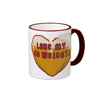 Love My 40 Weight Ringer Mug