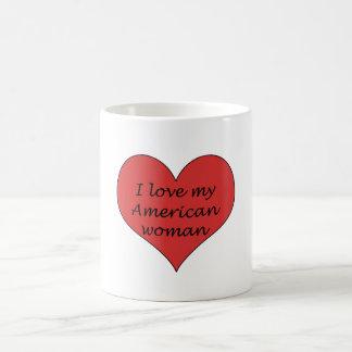 Love My American Woman Coffee Mugs