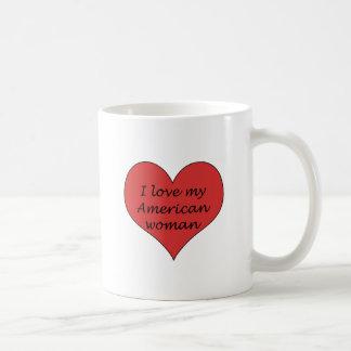 Love My American Woman Coffee Mug