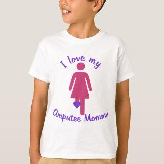 Love My Amputee Mummy T-Shirt