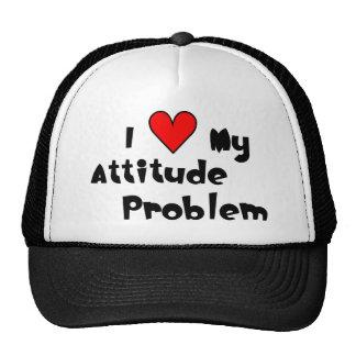 Love My Attitude Problem Cap Trucker Hat