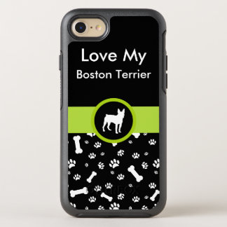 Love My Boston Terrier OtterBox Symmetry iPhone 8/7 Case