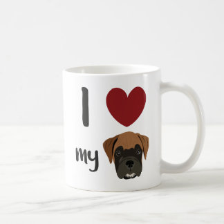 Love My Boxer Coffee Mug