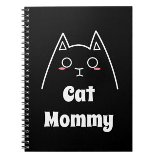 Love My Cat Mommy Notebooks