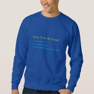 Love my Cats sweatshirt