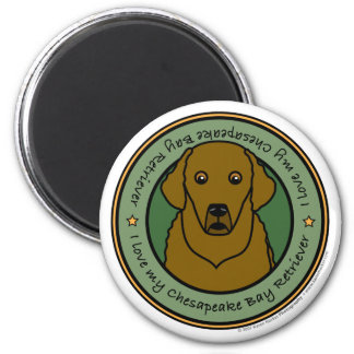 Love My Chesapeake Magnet