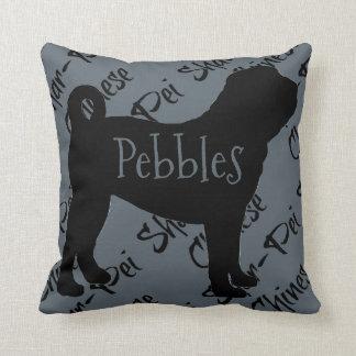 Love My Chinese Shar-Pei Dog Pillow