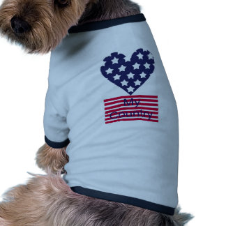 Love My Country Dog Clothes