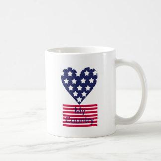 Love My Country Coffee Mug