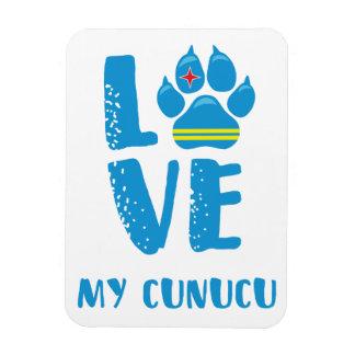 LOVE MY CUNUCU (Blue letters) - Magnet