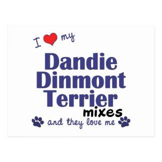 Love My Dandie Dinmont Terrier Mixes (Multi Dogs) Postcard