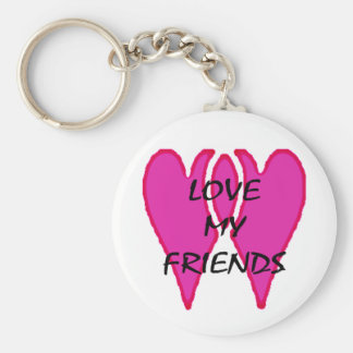 Love My Friends The MUSEUM Zazzle Gifts Keychain