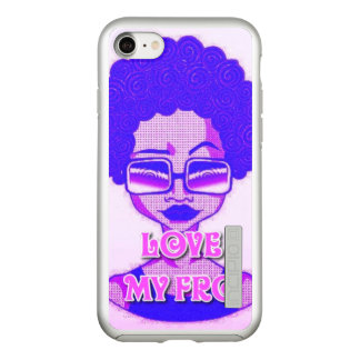 Love My Fro iPhone 7 Incipio Incipio DualPro Shine iPhone 8/7 Case