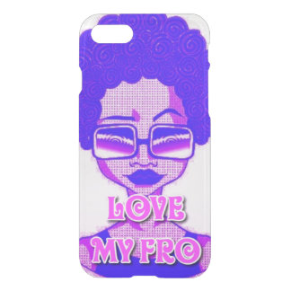Love My Fro iPhone 8/7 Clearly™ Case