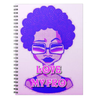 Love My Fro Spiral Notebook