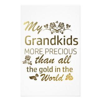 Love my Grandkid designs Stationery