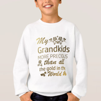 Love my Grandkid designs Sweatshirt