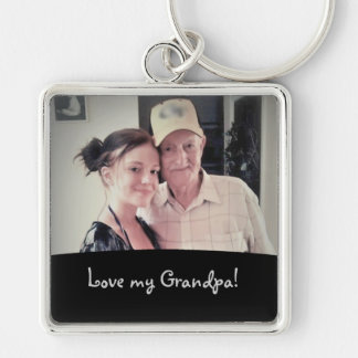Love My Grandpa: Picture Keychain
