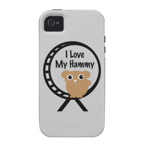 Love My Hammy Vibe iPhone 4 Covers