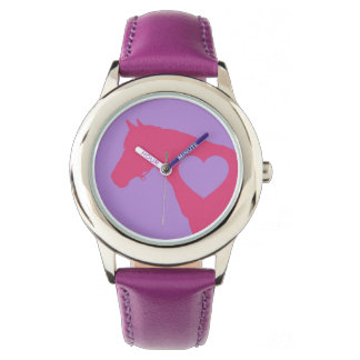 Love my horse in pink and purple Watch