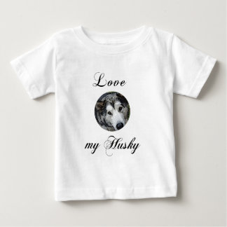 love my husky baby T-Shirt