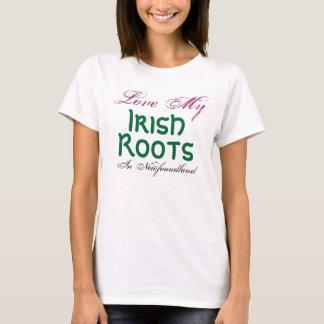 Love My Irish Roots, In Newfoundland - T-Shirt