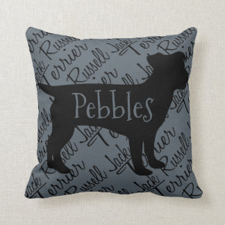 Love My Jack Russell Terrier Pillow