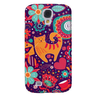 Love My Kitty (Samsung Galaxy S4 Case) Galaxy S4 Covers