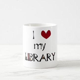 Love My Library Coffee Mug