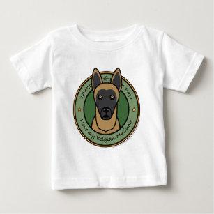 c9d94643 Belgian Malinois Baby Tops & T-Shirts | Zazzle.com.au