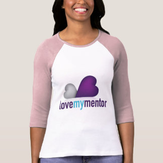 Love My Mentor Fitted T-Shirt