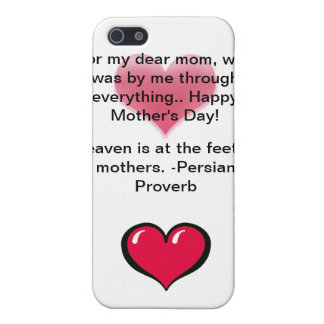 """""""Love My Mother"""" Mother's Day iPhone 4 Case"""