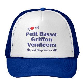 Love My Petit Basset Griffon Vendeens (Multi Dogs) Mesh Hats