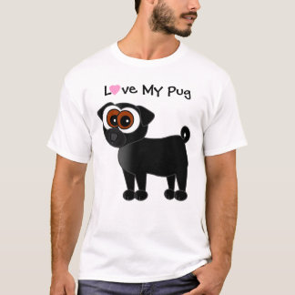Love My Pug T-Shirt