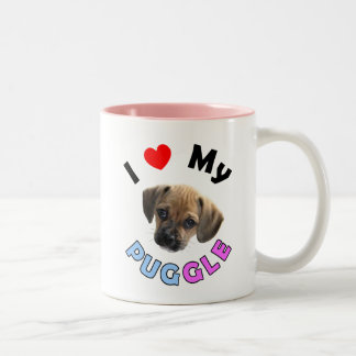 Love My Puggle Mug