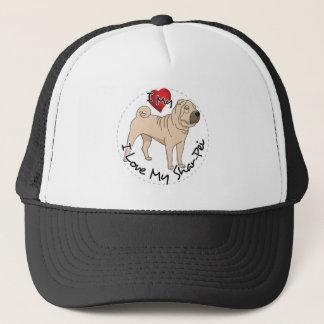 Love My Shar Pei Trucker Hat